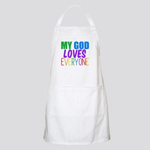 My God Loves Apron