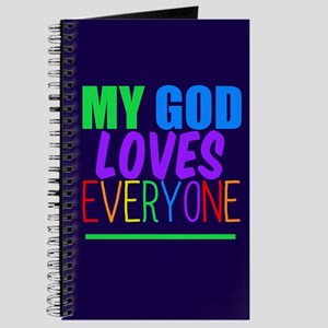 My God Loves Journal