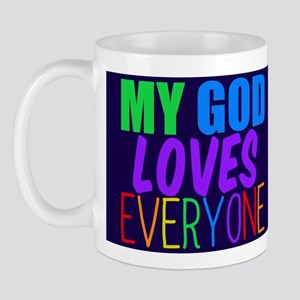 My God Loves Mug