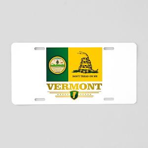Vermont DTOM Aluminum License Plate