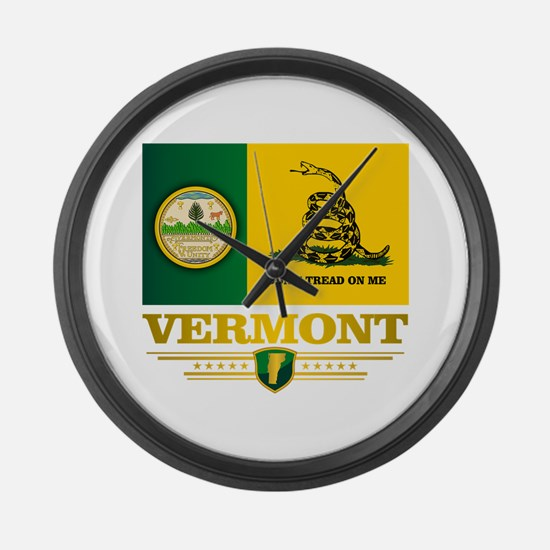 Vermont DTOM Large Wall Clock