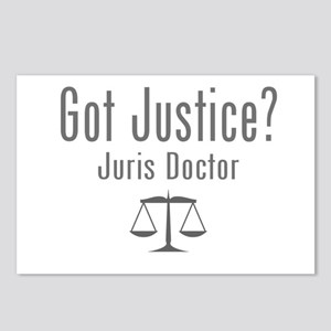 Got Justice? - Juris Doctor Postcards (Package of