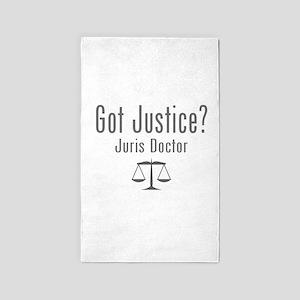 Got Justice? - Juris Doctor 3'x5' Area Rug