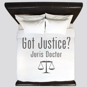 Got Justice? - Juris Doctor King Duvet