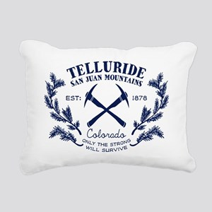 Telluride Survive Rectangular Canvas Pillow