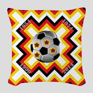 World Cup 2014/ WM 2014 Woven Throw Pillow