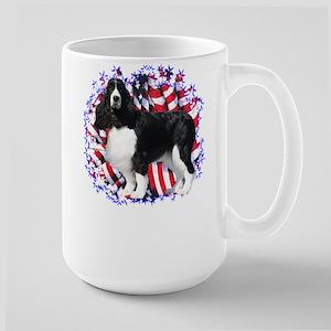 English Springer Patriotic Large Mug