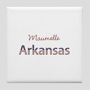 Custom Arkansas Tile Coaster