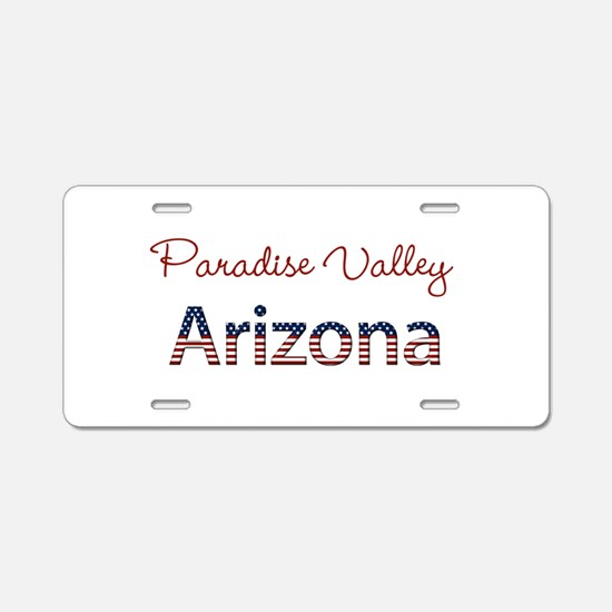 Custom Arizona Aluminum License Plate