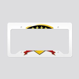 Deutschland Weltmeister 2014 License Plate Holder