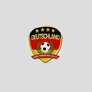 Deutschland Weltmeister 2014 Mini Button