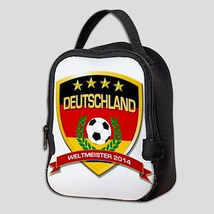 Deutschland Weltmeister 2014 Neoprene Lunch Bag