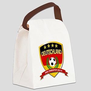 Deutschland Weltmeister 2014 Canvas Lunch Bag