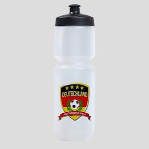 Deutschland Weltmeister 2014 Sports Bottle