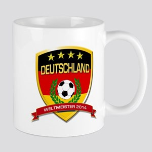 Deutschland Weltmeister 2014 Mugs