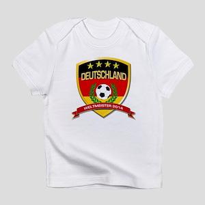 Deutschland Weltmeister 2014 Infant T-Shirt