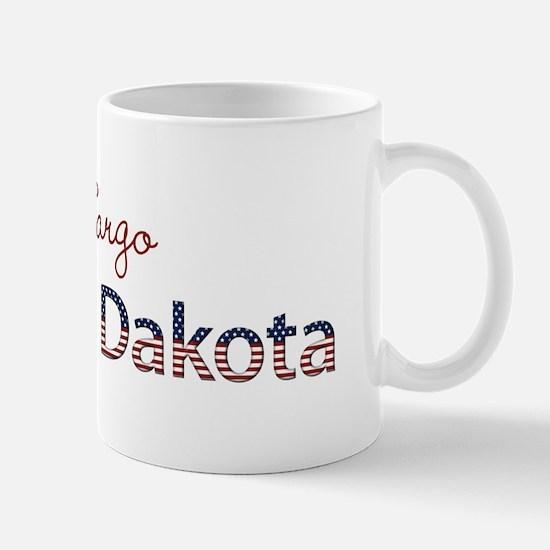 Custom North Dakota Mug