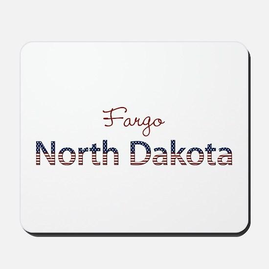 Custom North Dakota Mousepad