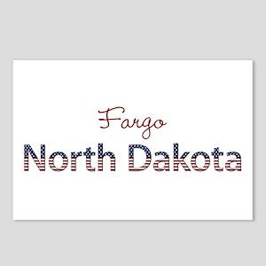 Custom North Dakota Postcards (Package of 8)