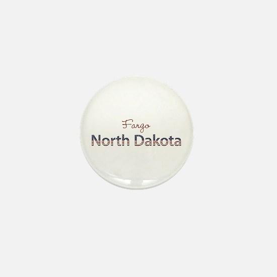 Custom North Dakota Mini Button
