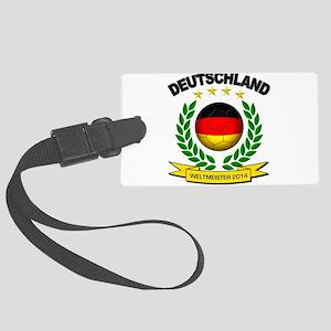 Deutschland Weltmeister 2014 Luggage Tag