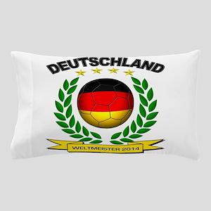 Deutschland Weltmeister 2014 Pillow Case