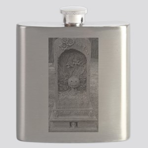 The Birth Pace of SAM HAIN Flask