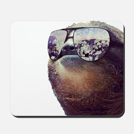 Big Money Sloth Mousepad