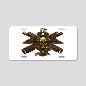 Brass Imperial Eagle Skull Machine Guns Aluminum L