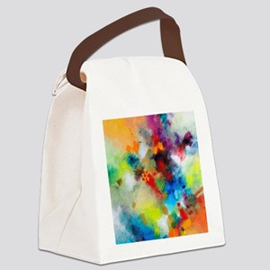Dance Around It Canvas Lunch Bag