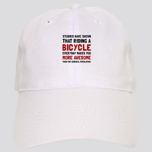 Bicycle More Awesome Baseball Cap