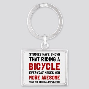 Bicycle More Awesome Keychains
