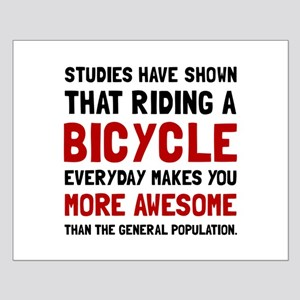 Bicycle More Awesome Posters