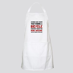 Bicycle More Awesome Apron