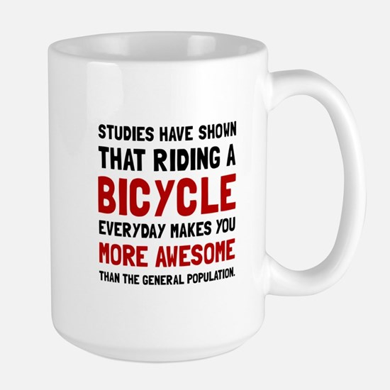 Bicycle More Awesome Mugs