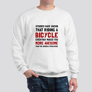 Bicycle More Awesome Sweatshirt