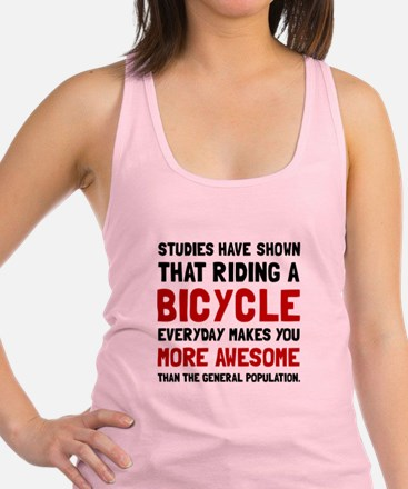 Bicycle More Awesome Racerback Tank Top