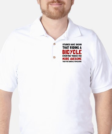 Bicycle More Awesome Golf Shirt