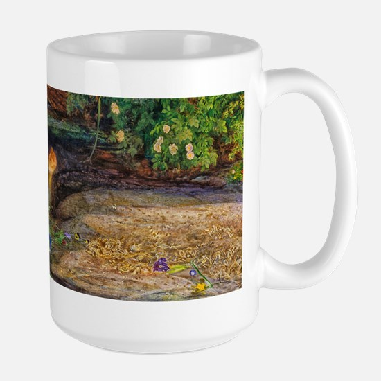 Millais: Drowning Ophelia Large Mug
