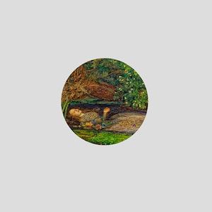 Millais: Drowning Ophelia Mini Button