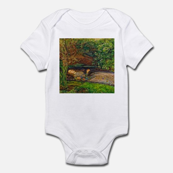 Millais: Drowning Ophelia Infant Bodysuit