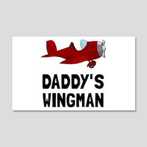 Daddys Wingman Wall Decal
