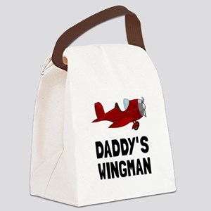 Daddys Wingman Canvas Lunch Bag