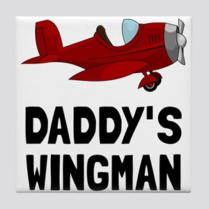 Daddys Wingman Tile Coaster