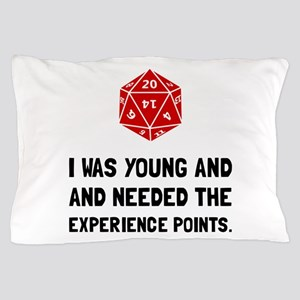 Experience Points Pillow Case