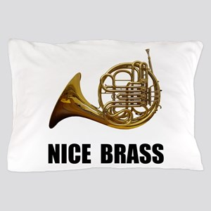 Nice Brass French Horn Pillow Case
