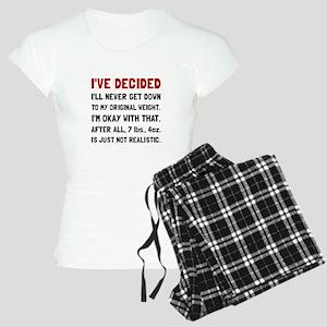 Original Weight Pajamas