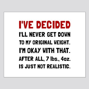 Original Weight Posters