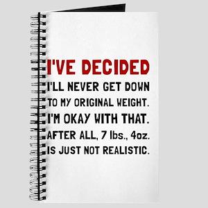 Original Weight Journal