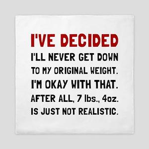 Original Weight Queen Duvet
